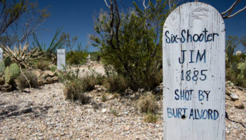 Boothill Graveyard in Tombstone, Arizona