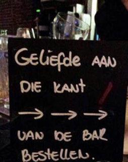 Geliefde an die kant bar bestellen Meneren