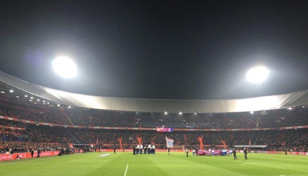Meneren Nederland Frankrijk Koeman Oranje De Kuip