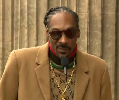 Snoop Dogg bedankt zichzelf
