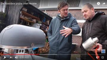 De Roccbox pizza-oven review Meneren Jan Heemskerk Marcel Maassen