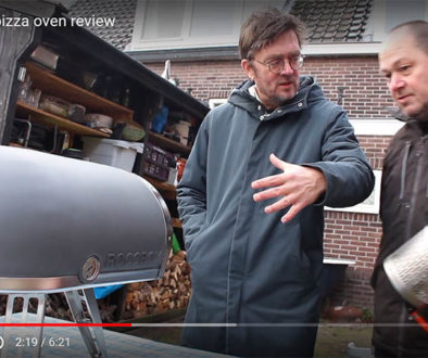 De Roccbox pizza-oven review Meneren Jan Heemskerk Marcel Maassen