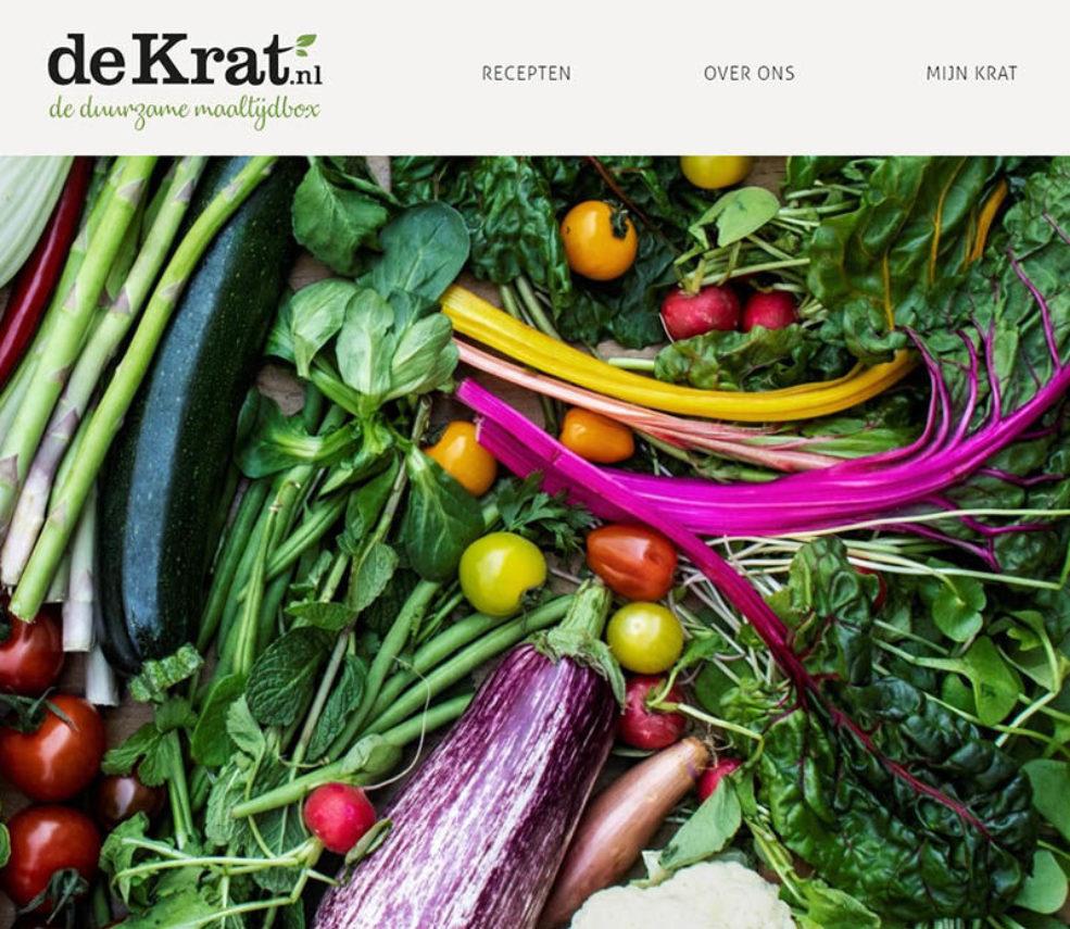 Homepage de krat meneren Marcel Maassen