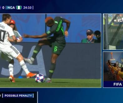 Meneren NOS beeld Duitsland Nigeria vrouwen WK voetbal