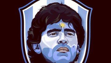D10S Maradona