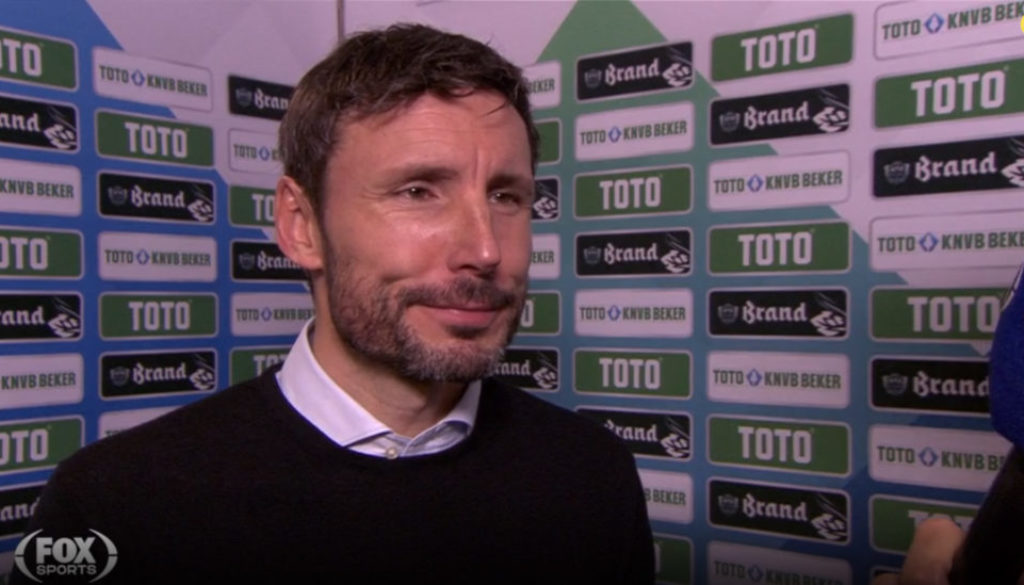 Mark van Bommel Fox Sports Marcel Maassen meneren
