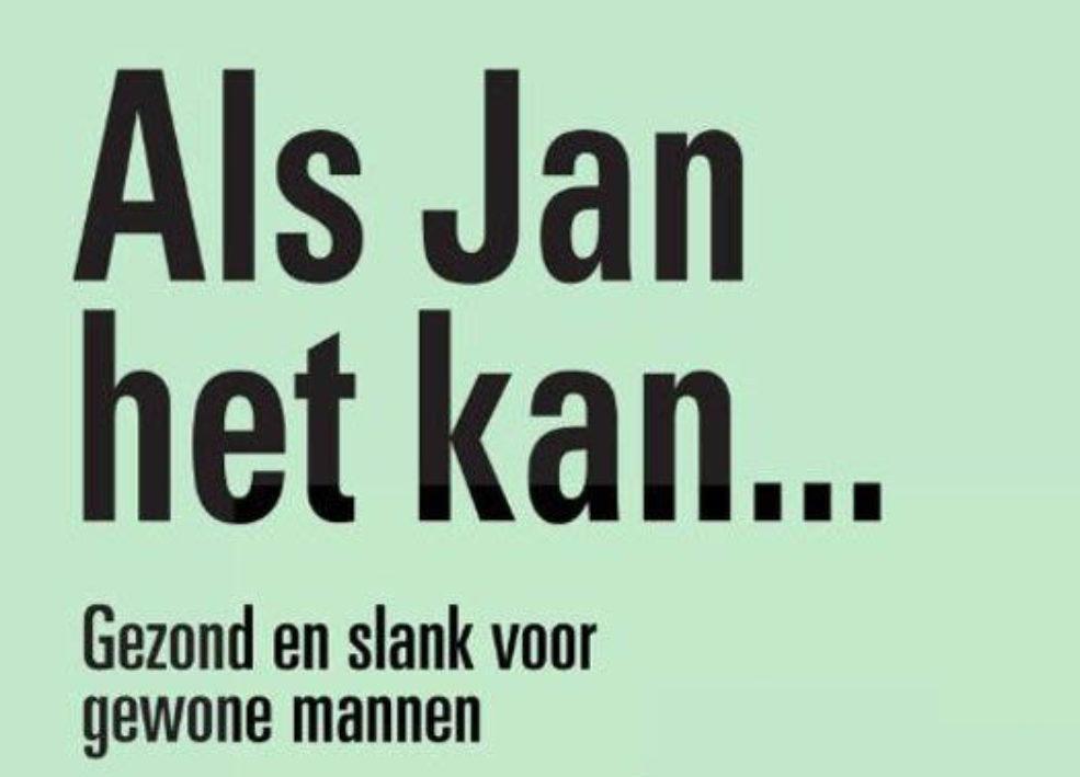 2Cover Als Jan het kan meneren Heemskerk